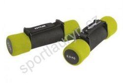 Aerobic činka 2 x 0,5 Kg - zelené
