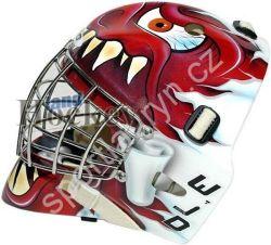 Brankařská hokejová maska WJD Red Eye