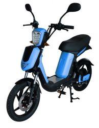 Elektrický motocykl RACCEWAY E-BABETA , modrý-matný