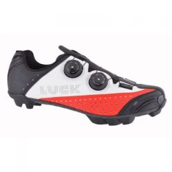 CYKLISTICKÉ BOTY LUCK LASER CYCLING SHOES BLACK - 39