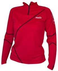 SWIX Polaris PR-polo womens Red
