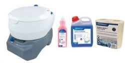 Chemická toaleta - 20L Portable Toilet Combo
