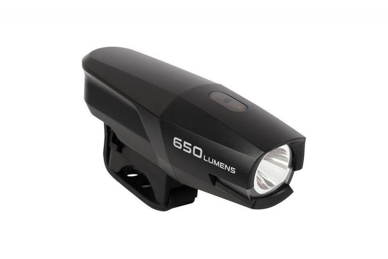 Světlo přední Smart Polaris 650 Lumen USB black