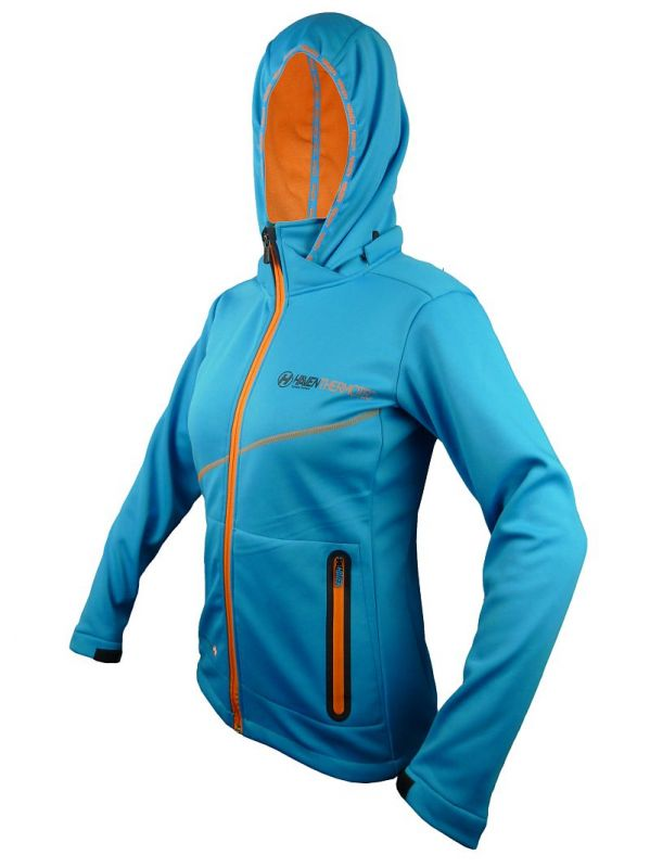 Bunda HAVEN Thermotec women blue/orange
