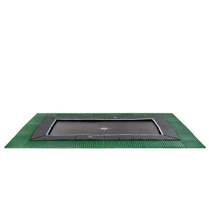 Trampolína EXIT Dynamic Ground Level 305 x 518 cm s dopadovou zónou - dostupnost Květen